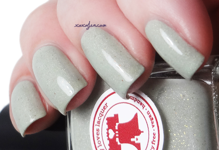 xoxoJen's swatch of Philly Loves Lacquer I Love You A Lime