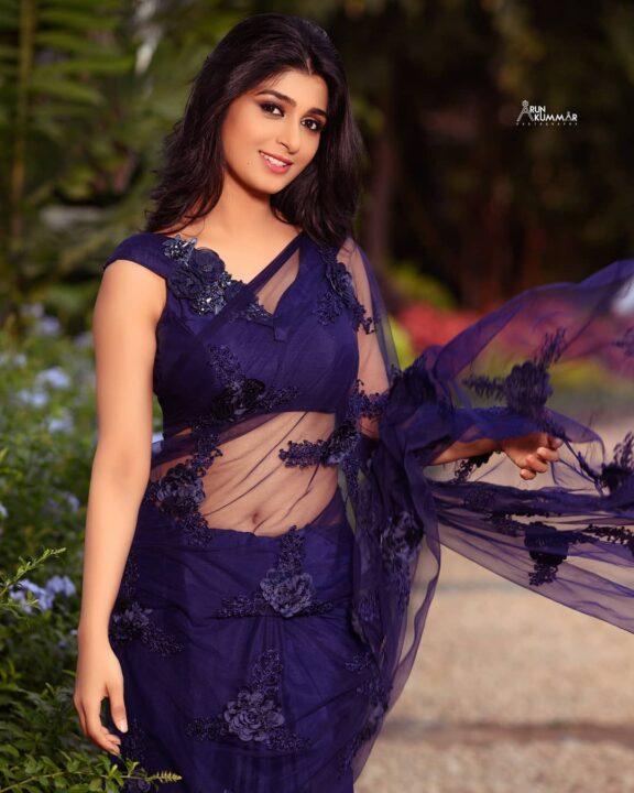 Aditi Prabhudeva Saree Stills