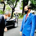 Ini yang Dibicarakan Jokowi dengan Muhyiddin Yassin, Salah Satunya Perlindungan WNI