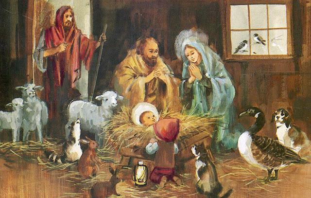 Modern Nativity Scenes