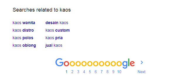 Cara Mengetahui Kategori Kaos Dengan Sugest Dari Pencarian Google | Tutorial Riset Kata Kunci Untuk Promosi