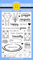 Sunny Studio Stamps: Introducing Froggy Friends Photo-polymer Clear Stamps