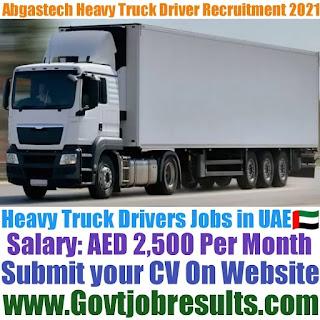 Abgastech Heavy Truck Driver Recruitment 2021-22
