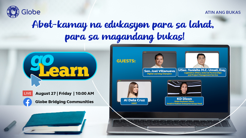 Globe Telecom seeks to close learning gaps with GoLearn