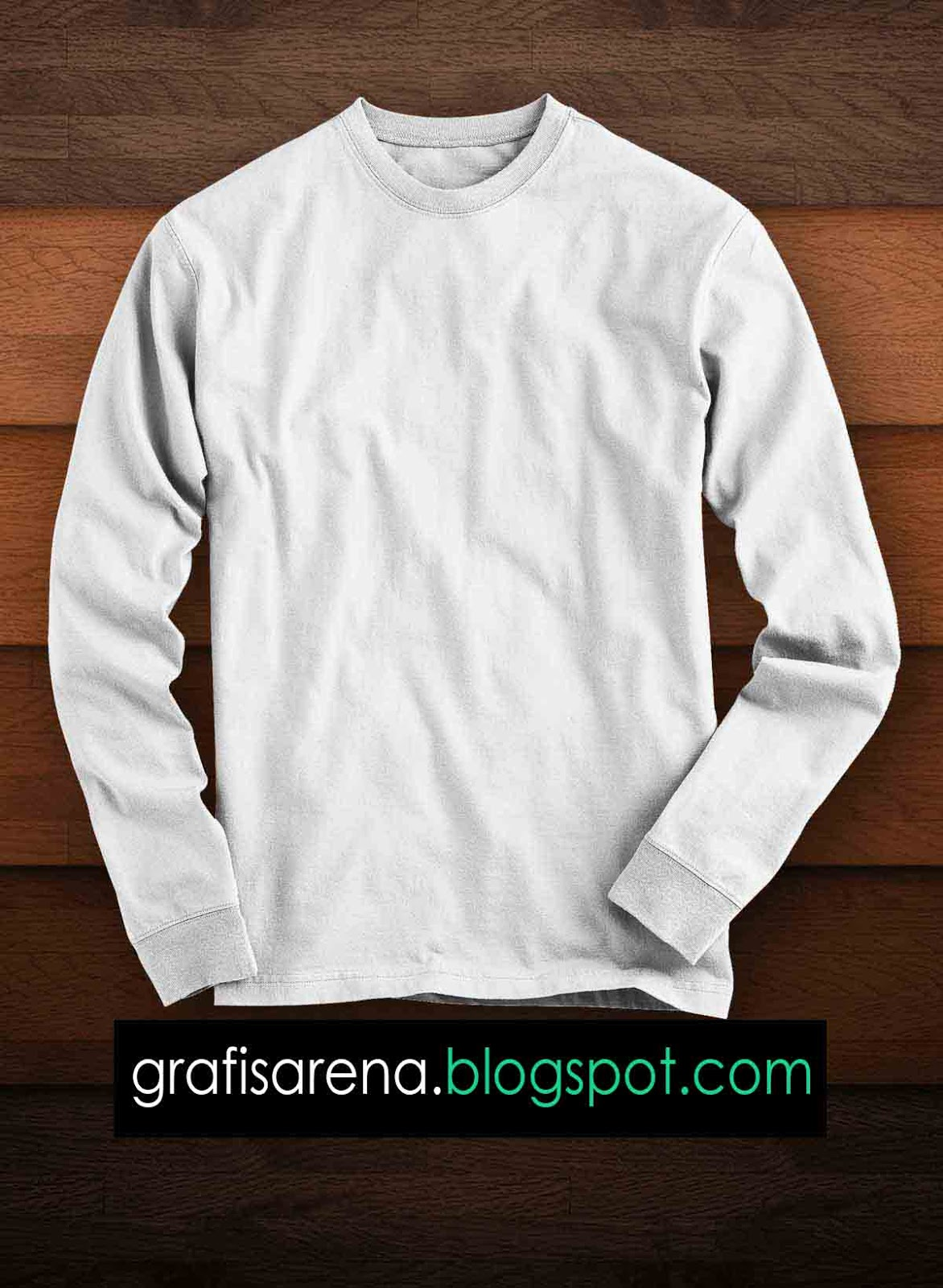 Template Kaos Lengan Panjang : template, lengan, panjang, Download, Template, Untuk, Photoshop