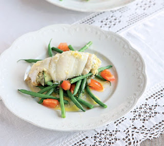 baked sole with fennel pesto recipe