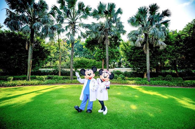 #DisneyMagicMoments, 香港迪士尼 向每位醫護人員致敬, Disney, Disney Parks, Hong Kong Disneyland, 香港迪士尼樂園, Mickey Mouse, Minnie Mouse