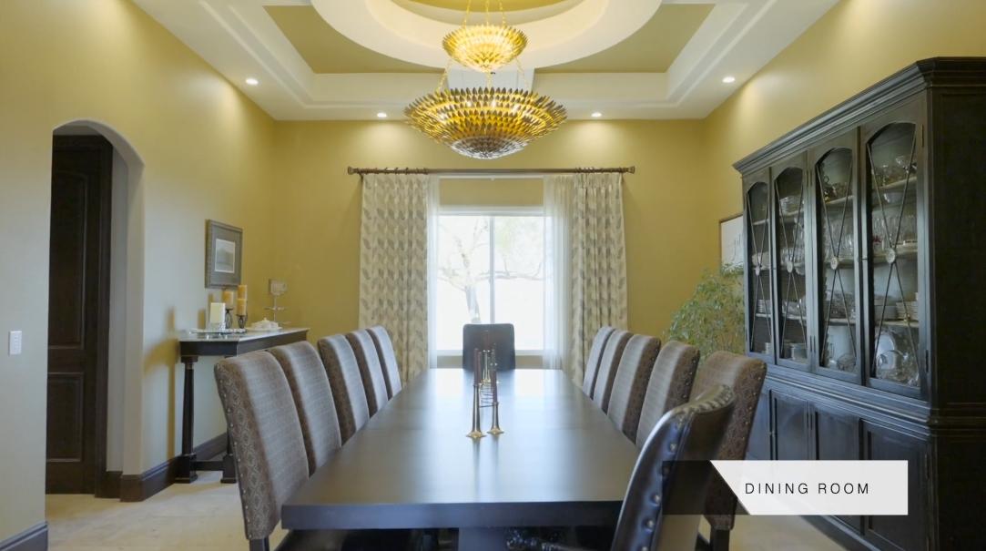 33 Interior Design Photos vs. Tour 1 Awbrey Ct, Henderson, NV Mansion Tour