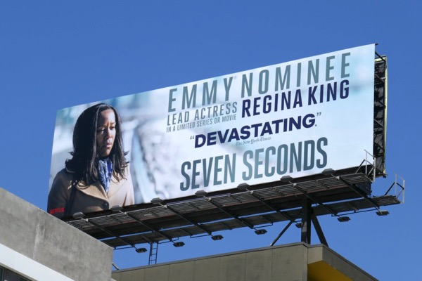 Regina King Seven Seconds Emmy nominee billboard