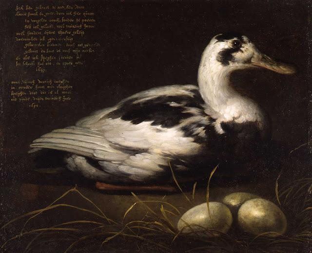 Альберт Кёйп - Утка. 1647-50