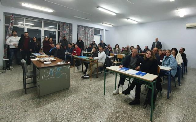 Σχολείο Δεύτερης Ευκαιρίας Ναυπλίου - Παράρτημα Κρανιδίου - Απολογισμός 2019-20