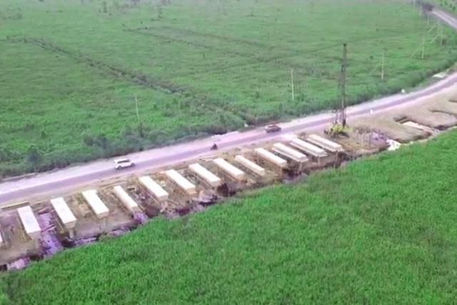 jembatan layang bukit rawi palangkaraya jalur lintas