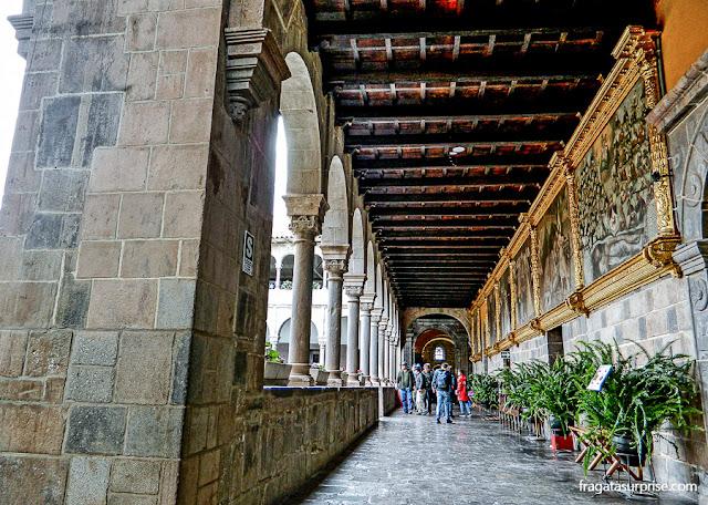 Convento de São Domingos, Qorikancha (Templo do Sol), Cusco, Peru