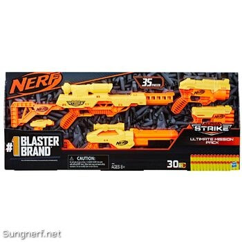 Bộ súng Nerf Alpha Strike Ultimate Mission Pack