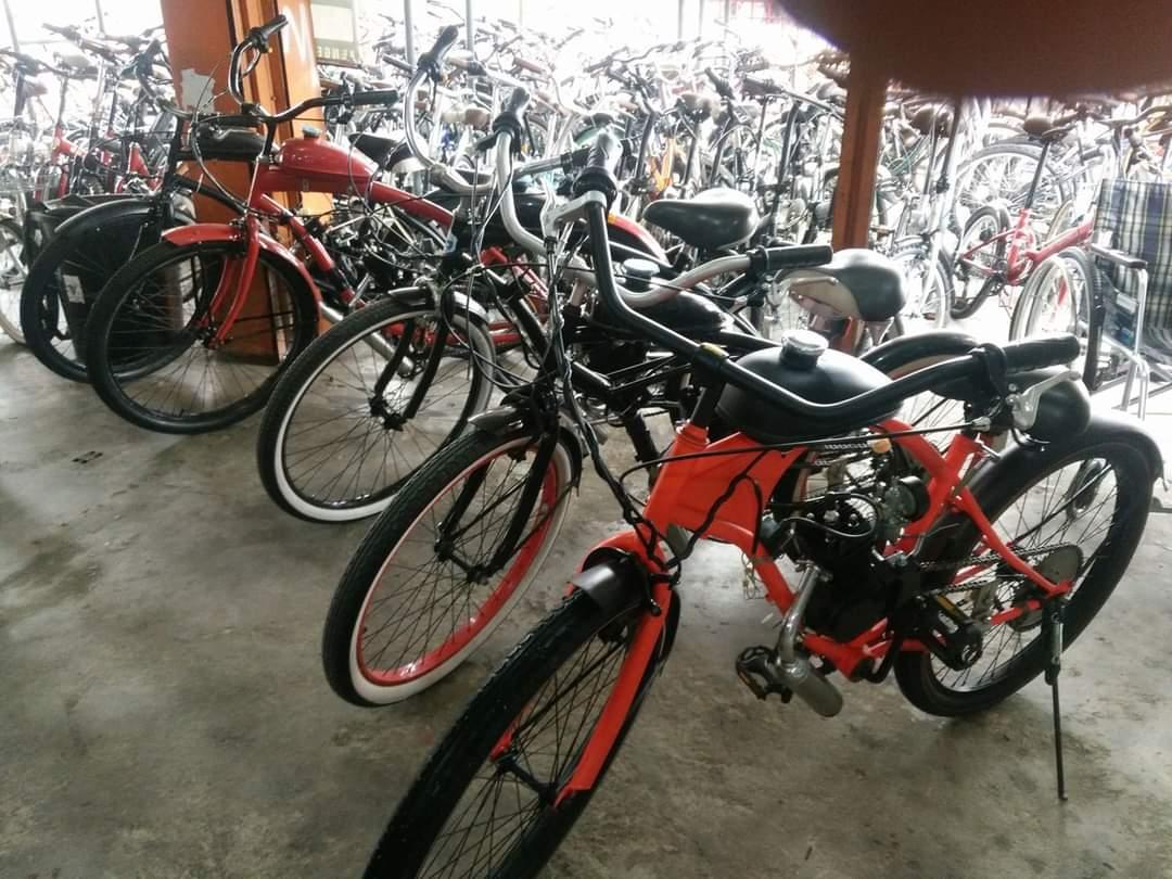 Basikal moped