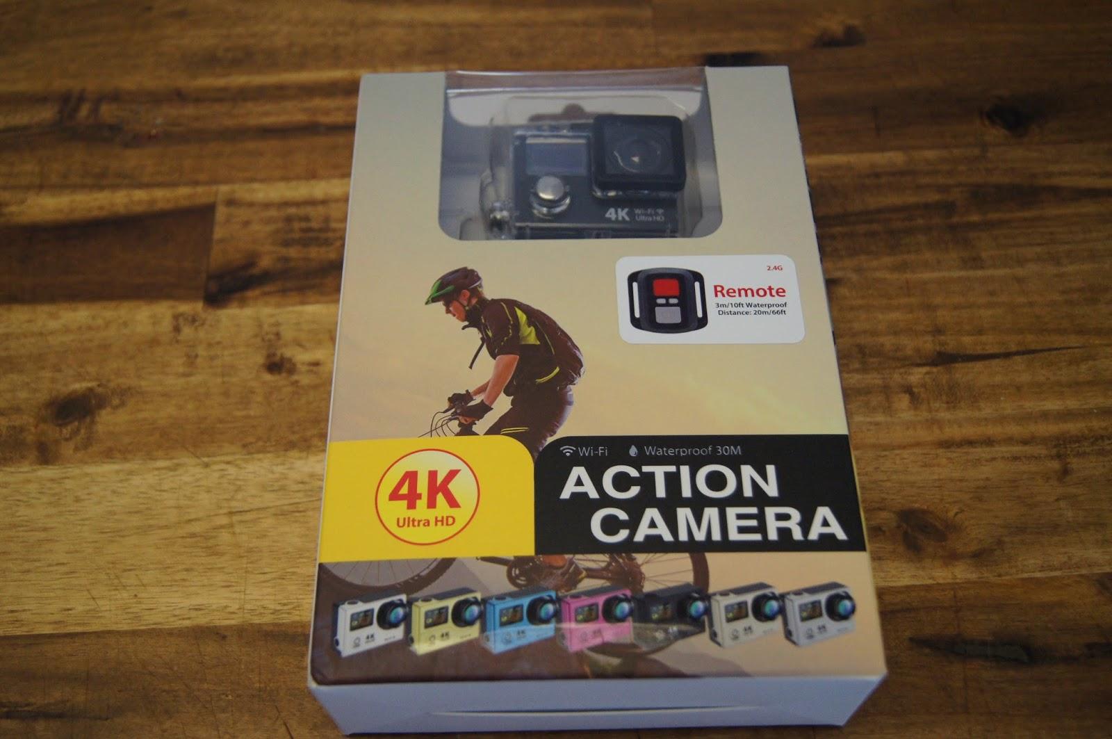der tester daily 4k uhd action cam mit dual display und. Black Bedroom Furniture Sets. Home Design Ideas