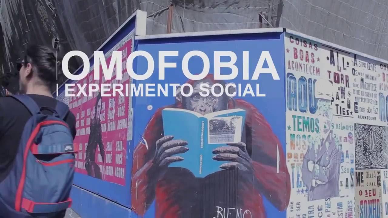 Vídeo mostra reação das pessoas de São Paulo em um caso de homofobia