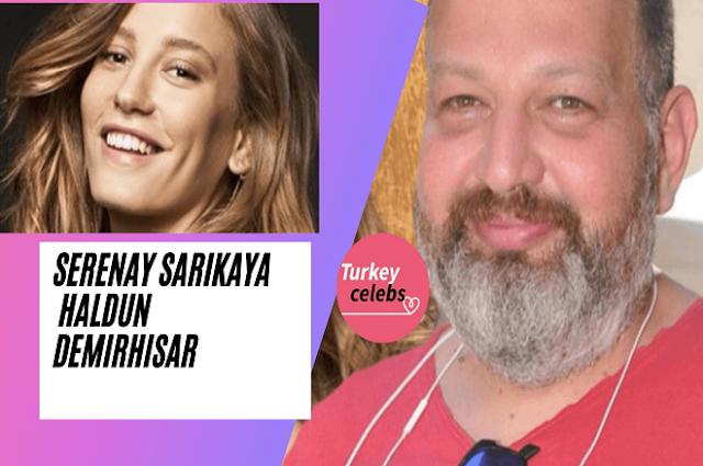 Serenay Sarıkaya denied the news that she had a love affair with Haldun demirhisar .