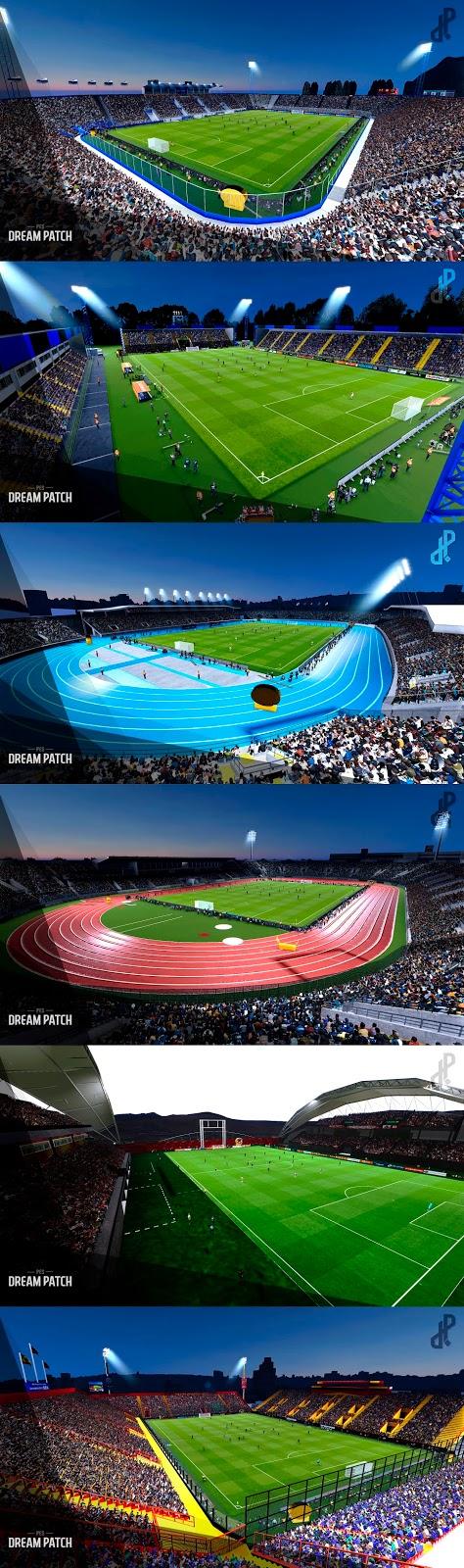Pes 2018 Stadiums Pack