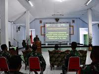 Kodim 0802/Ponorogo Kedatangan tamu Tim Asnis  Pembinaan Kesiapan Aparat Kewilayahan dan Kemampuan  Teritorial