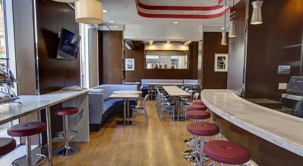 Breakfast room Fairfield Inn by Marriott Financial District