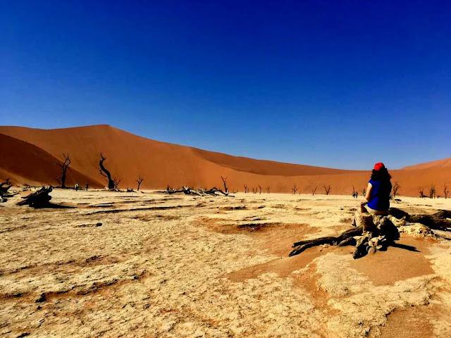 Desierto de Namibia en Sossusvlei