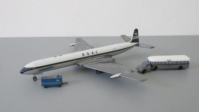 1/144 1/200 De Havilland Dh106 Comet diecast metal aircraft miniature