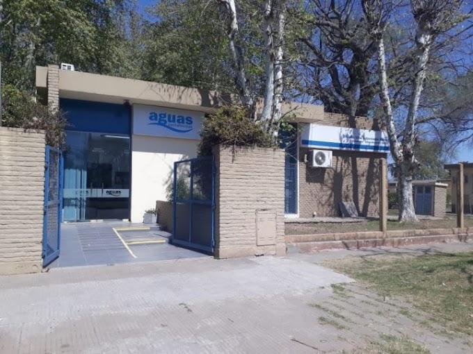 Covid 19: Aguas cierra su oficina en VGG y Rosario para atención presencial, será virtual