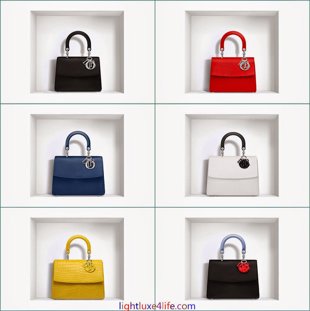 Be Dior is part of the Fall Winter 2014 Collection. It is a single handle  tote bag that features a flap front and has an external pocket at the back  ... bcea91d44f398