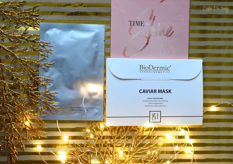Biodermic Maska w płacie Kawiorowa