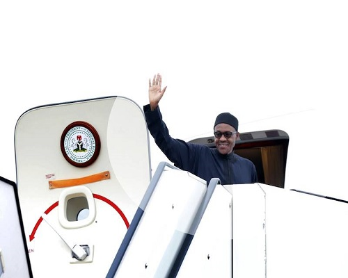 Buhari Leaves for London Today, To Hold Talks With Theresa May (No Date Fixed Foe His Return Yet)