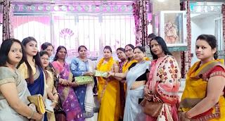 जेसीआई शक्ति ने महिला उद्यमी को किया सम्मानित | #NayaSaberaNetwork
