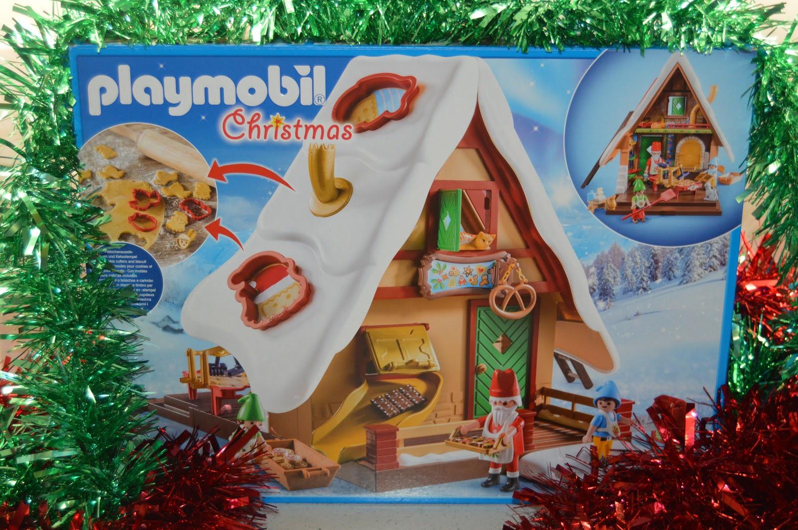 Playmobil Christmas house set