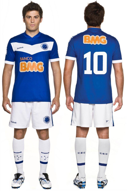 7c4cfd425c Cruzeiro apresenta novos uniformes para a disputa da Libertadores ...