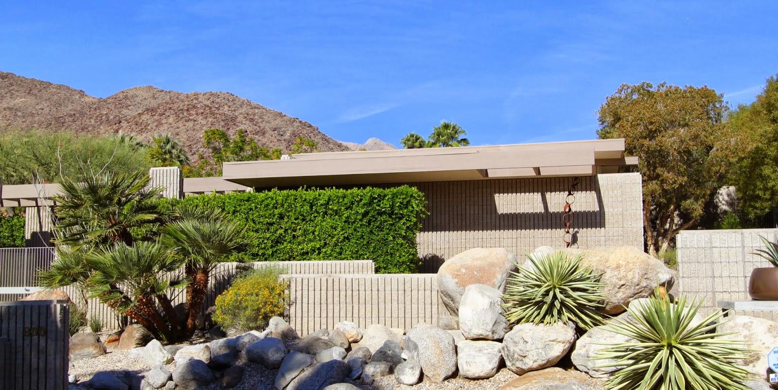 Walking Tour Vista Las Palmas Palm Springs Modernism Week 2017