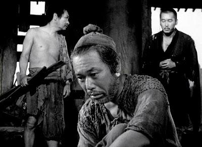 Takashi Shimura as woodcutter, Rashomon, Directed by Akira Kurosawa