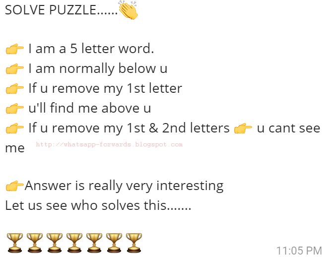 I am a 5 letter word Puzzles World - word letter