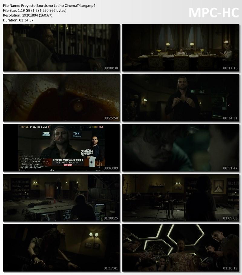 Proyecto Exorcismo pelicula completa español latino hd
