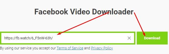 ini dia download video dari fb