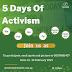 5 Days Of Activism