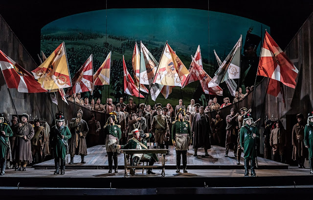 Prokofiev: War and Peace - Welsh National Opera (Photo Clive Barda)