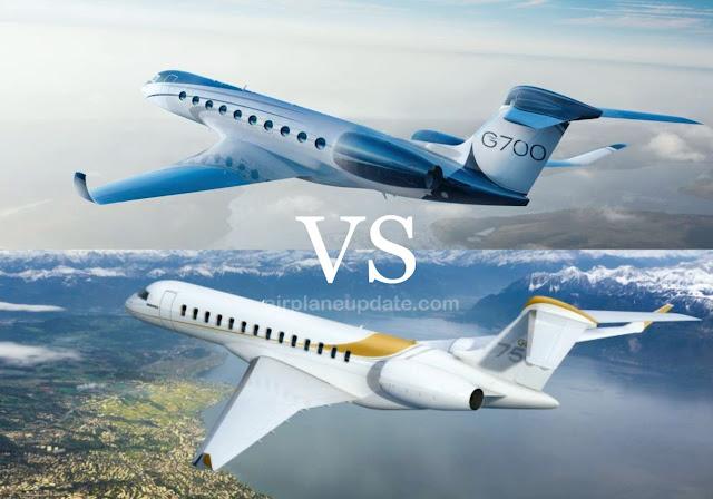 Gulfstream G700 Vs Bombardier Global 7500