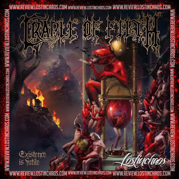 Cradle of Filth - Existence Is Futile CD 2021