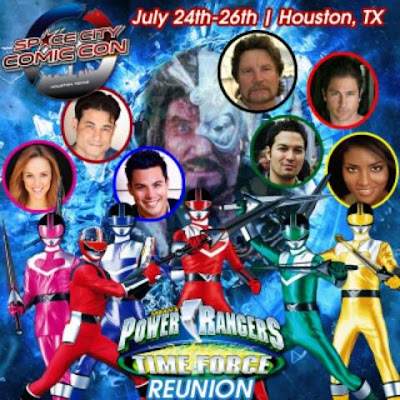 Space City Comic Con 2015 Power Rangers Time Force Reunion