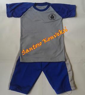 Kaos Olahraga Anak Paud TK