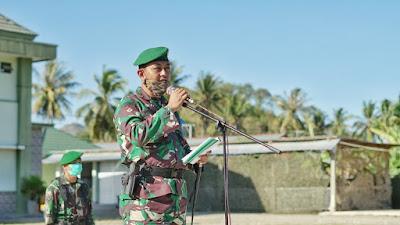 Dandim 1607/Sumbawa, Letkol Inf Samsul Huda SE MSc