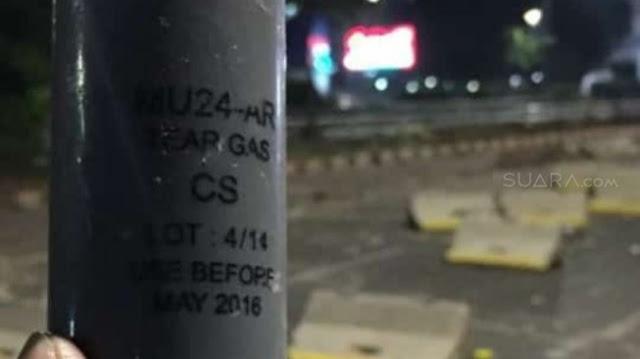 Polisi Pakai Gas Air Mata Kedaluwara, Aktivis HAM: Racunnya Bikin Kebutaan