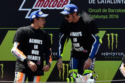 Rossi: Strategi Saya Berjalan Mulus, Kecuali dengan Marquez