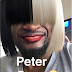 LOL! PETER WOULD MAKE A GOOD SIA TWIN YES?