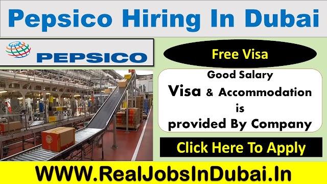 Pepsico Company Jobs In Dubai - UAE